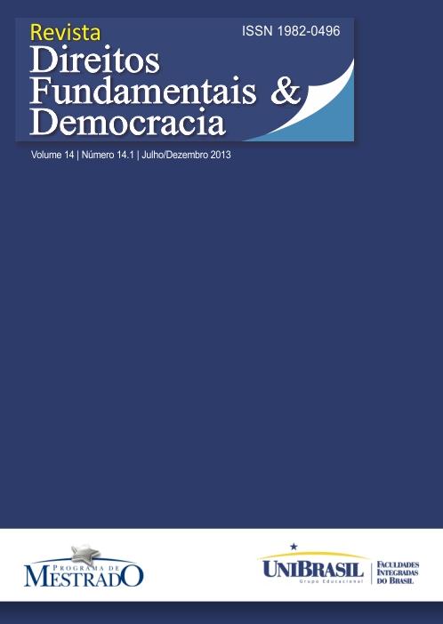 Visualizar v. 14 n. 14.1 (2013): Revista de Direitos Fundamentais & Democracia